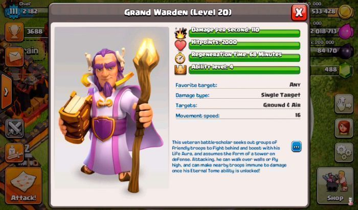 El-Jugon-De-Movil-Clash-Of-Clans-Actualizacion-grand-warden-habilities