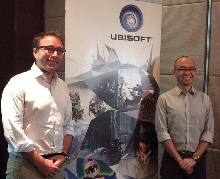 Director General Olivier de Rotalier (Izquierda), Gerente de Estudio Chip Go (Derecha)