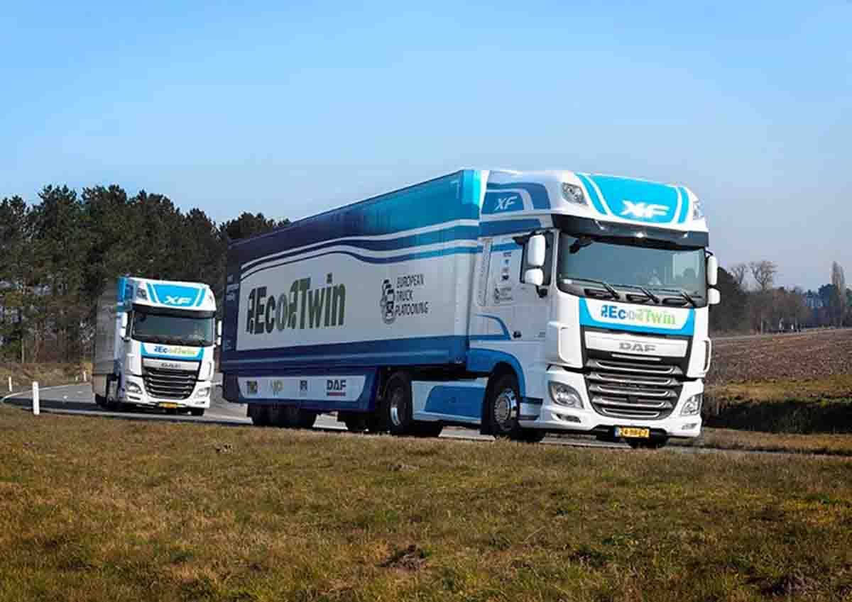 TRUCK-PLATOONING-TECHNOLOGY