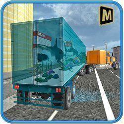 Sea Animals Transport Truck
