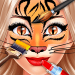 Face Paint Party Salon - Makeup, Makeover, Dressup and Spa Games