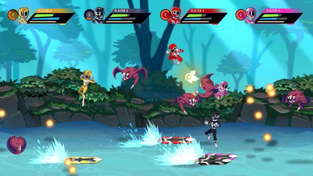 Power Rangers Mega Battle Screenshot 1