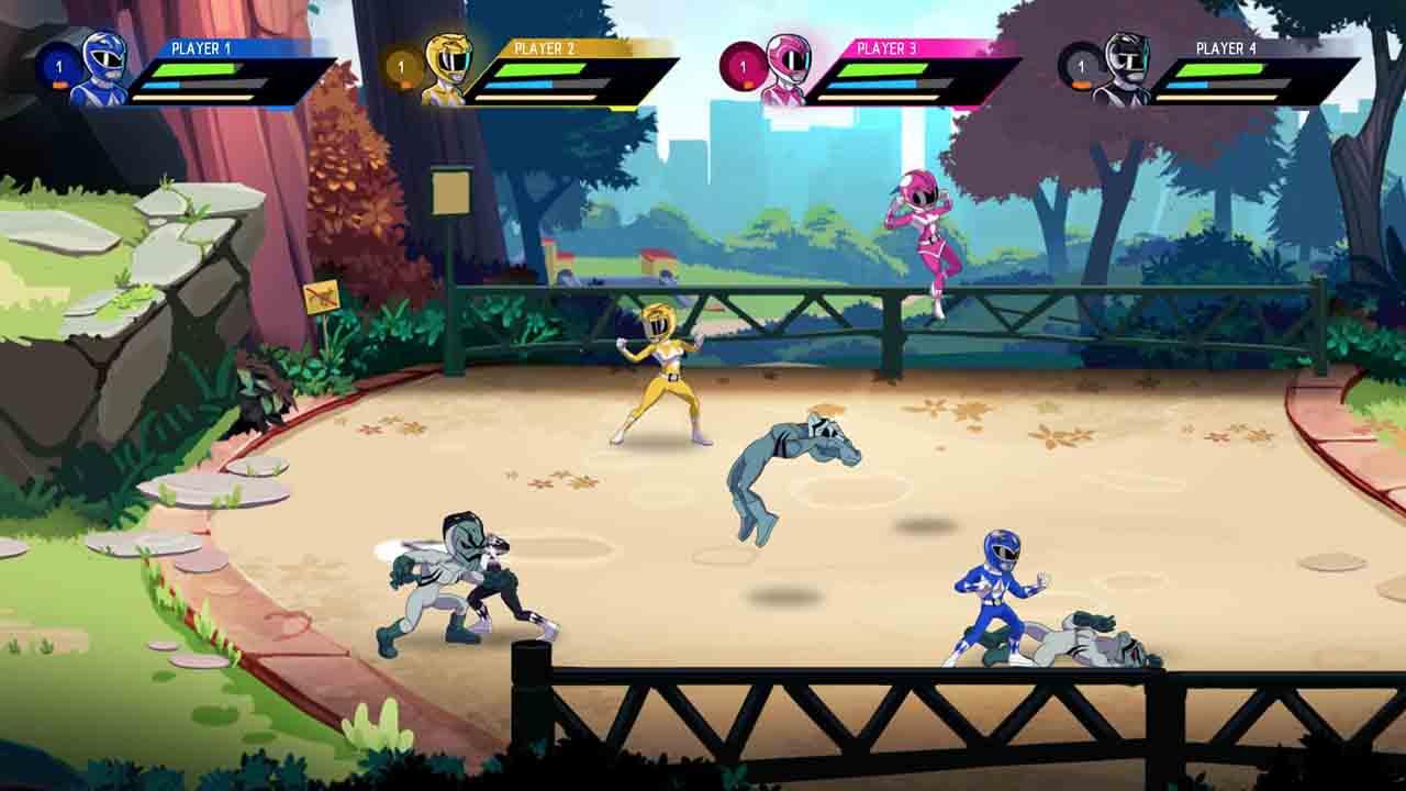 Power Rangers Mega Battle Screenshot 2