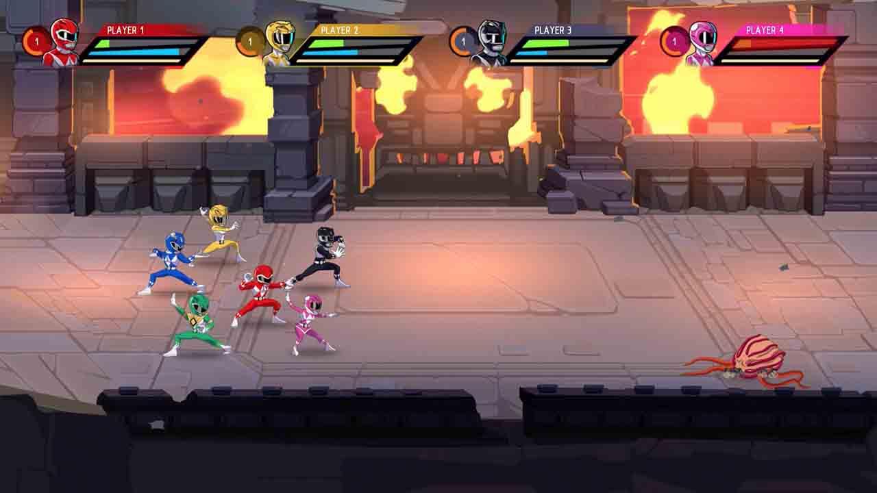Power Rangers Mega Battle Screenshot 3
