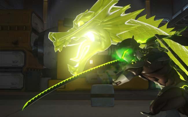 Espada de Dragon de Genji