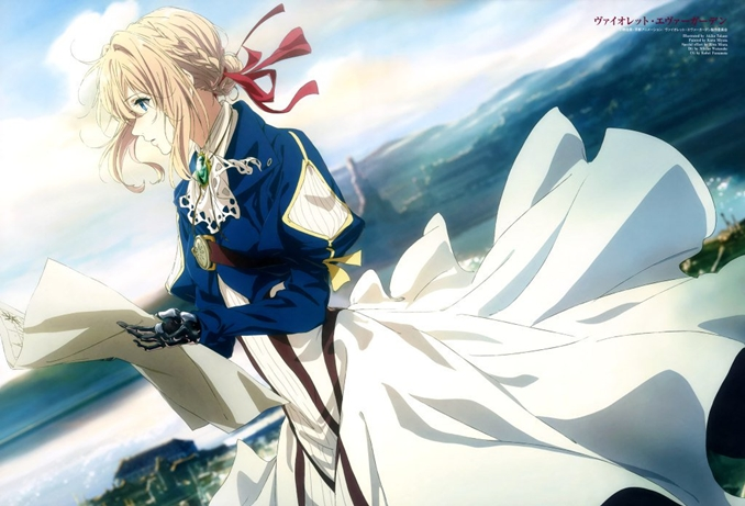 Violet Evergarden produccion