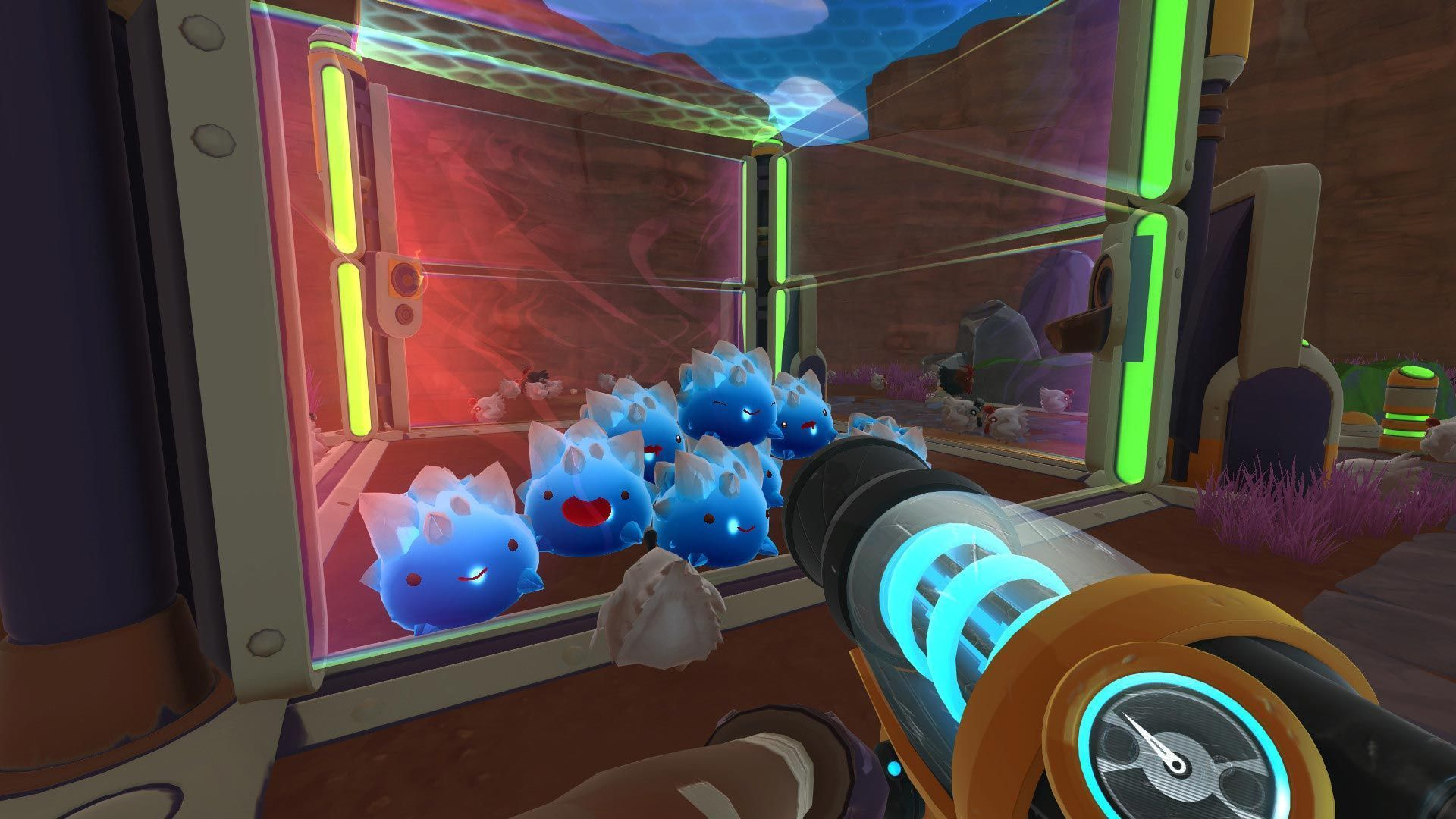 capturar slimes slime rancher