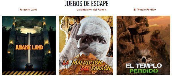 Escape Room, juego de aventura real