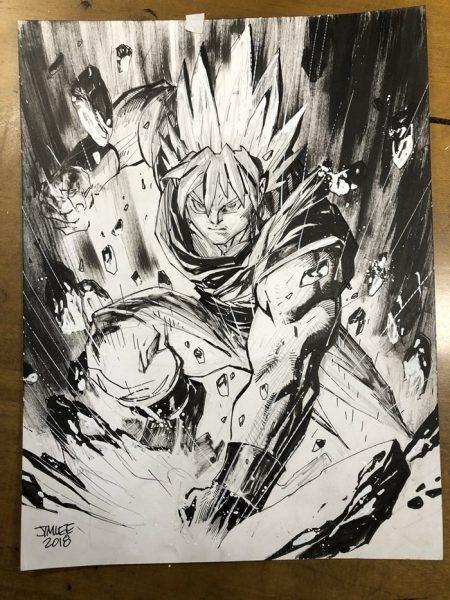 Goku comic
