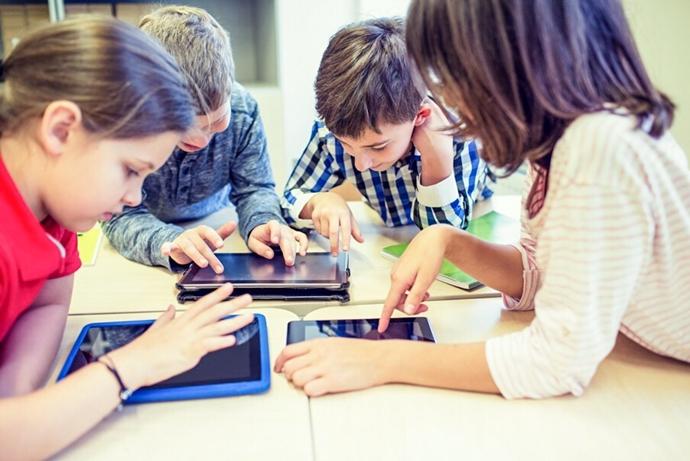 niños tecnologia