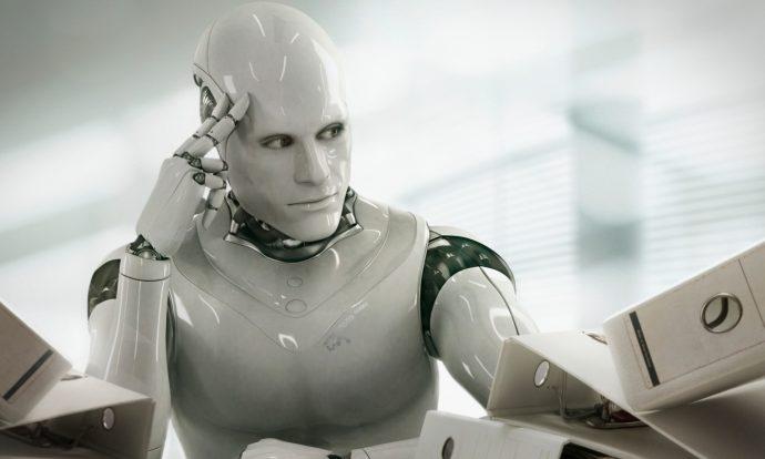 Robot real protagoniza película
