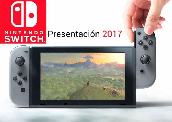 La presentación de la Nintendo Switch