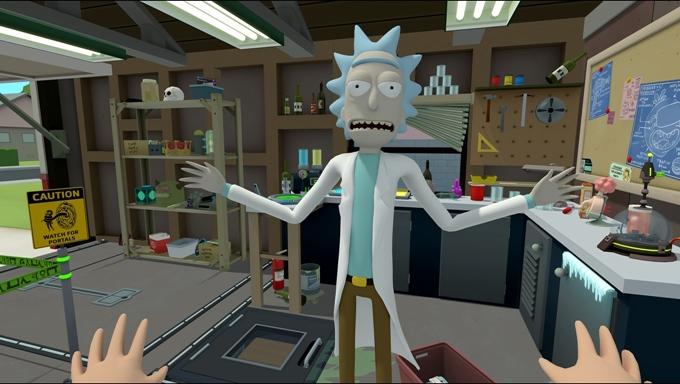 Rick and Morty: Virtual –Rick Ality