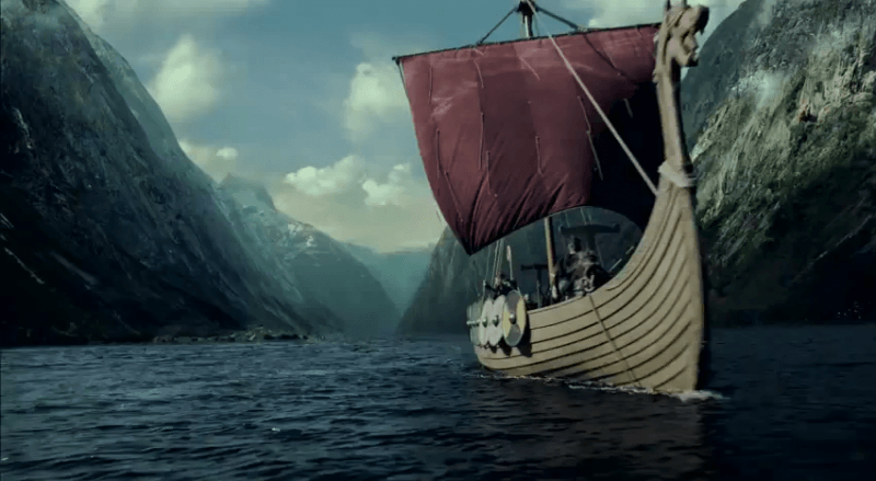 The last kingdom vs Vikingos